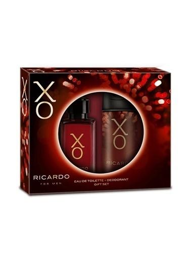 Xo  Ricardo Edt 100Ml+Deo150Ml Erkek Parfüm Set Renksiz